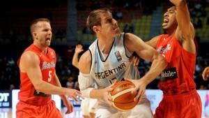 La Selección Argentina de básquet derrotó a Puerto Rico en el debut en el preolímpico