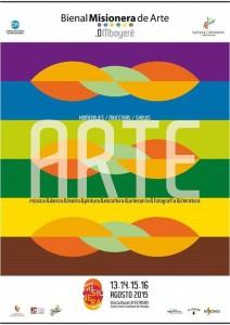 El arte de la tierra colorada se expone en .0Mboyere la primera Bienal de Arte Misionero