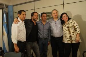 """Passalacqua agradeció la visita de Gastón Pauls y afirmó que """"Contra las Drogas estamos Todos"""""""