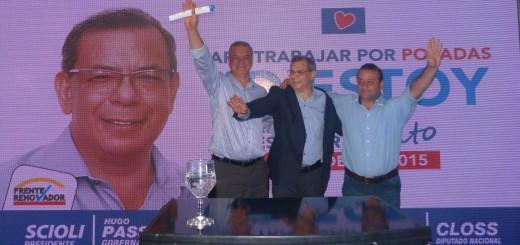 Ricardo Escobar presentó sus propuestas para Posadas
