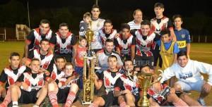 Liga Obereña: El Exa se consagró campeón al derrotar a San Martín de 25 de Mayo