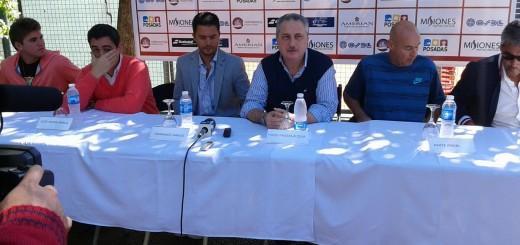 Tenis: Se lanzó el Torneo Future del Itapúa que comenzará el lunes