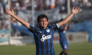 "Mira los goles 3 goles del ""Pulga"" Rodríguez a Guaraní ayer en Tucumán"