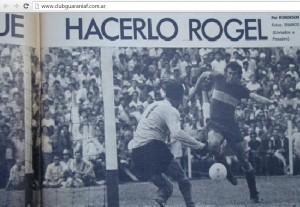 La única vez que jugaron Guaraní-Boca por los puntos: hace 41 años y fue ajustada victoria xeneize con gol de Rogel