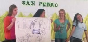 San Pedro: Exitosa convocatoria a la jornada de prevención de embarazo adolescente