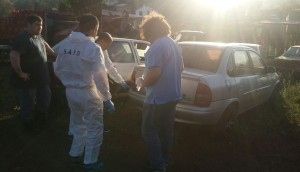 Peritaron el auto del remisero asesinado en San Pedro