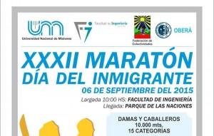 Presentaron la XXXII Maratón del Inmigrante