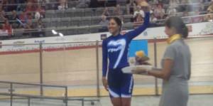 Mariela Delgado ganó en persecución individual y sumó su tercera medalla en Toronto