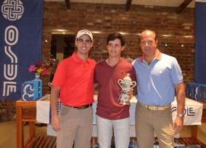Golf: Carlitos Okulovich y Tomás Beitía se impusieron en la Copa OSDE