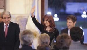 """Cristina, en Casa de Gobierno: """"Disfrazarse de día de lluvia e ir a juntarse con los pobres es obsceno"""""""
