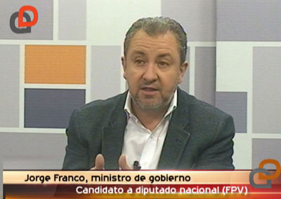 """Seguridad: """"Hay que establecer políticas que ataquen la exclusión social"""", consideró el ministro Franco"""