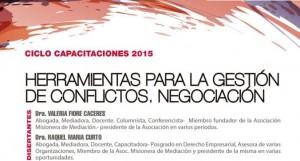 """Mediación: Capacitarán acerca de las """"Herramientas para la gestión de conflictos"""""""