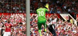 Sergio Romero debutó con un triunfo en el Manchester United
