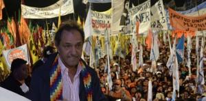"""Scioli en Jujuy: """"No voy a parar hasta que todos los pueblos estén conectados y con los servicios básicos"""""""