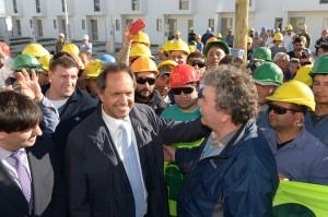 """Scioli: """"El acceso a la vivienda es parte de la gran agenda del desarrollo"""""""