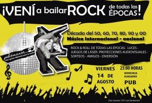 Melómanos trae lo mejor del rock and roll a Posadas