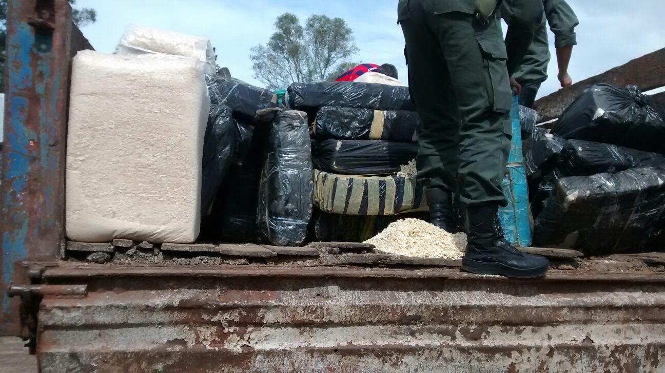 Gendarmería secuestró otras dos toneladas de marihuana que partieron de Misiones