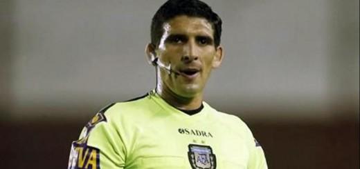 Andrés Merlos será el árbitro para Crucero-River