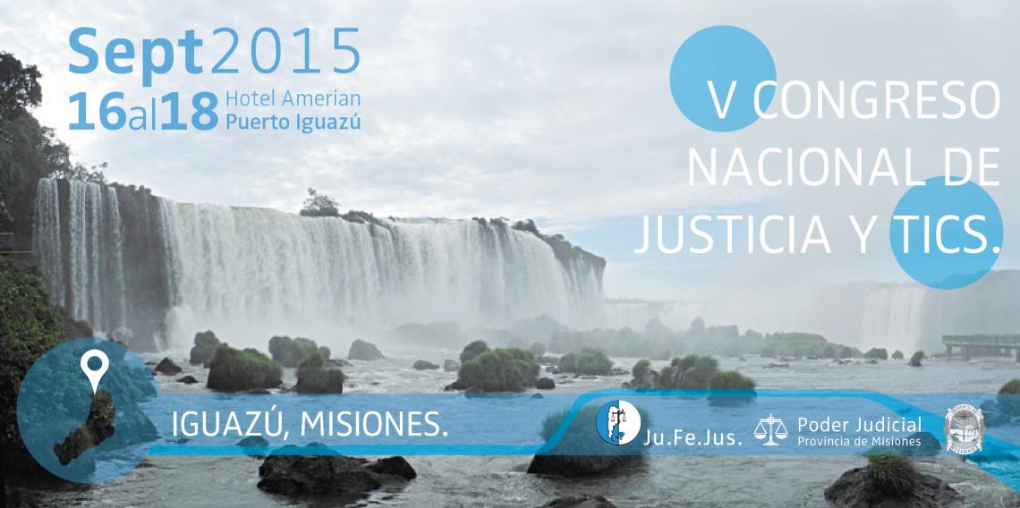 """Iguazú será sede del """"V Congreso Argentino de Justicia y Tecnología"""""""