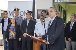 Passalacqua inauguró el Juzgado de Paz de Itaembé Miní y la nueva seccional 18ª de Posadas