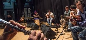 Avanzan los ensayos abiertos con músicos consagrados para el gran concierto en el teatro Lírico