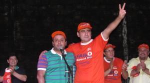 Con polideportivo colmado, Fabio Martínez lanzó su candidatura en Eldorado