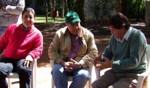 Fuerte apoyo del vice de Paraguay al puente en Oasis