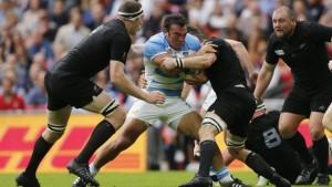 Los Pumas jugaron en gran nivel, pero cayeron ante los All Blacks en el debut del Mundial de Rugby