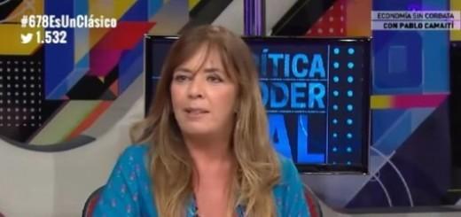 Gabriela Cerruti: ''El Estado de la Ciudad es manejado por amigos de Macri''