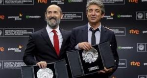 """Darín compartió la Concha de Plata como mejor actor con Javier Cámara por """"Truman"""""""