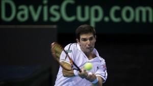 Argentina perdió con Bélgica en las semifinales de la Copa Davis