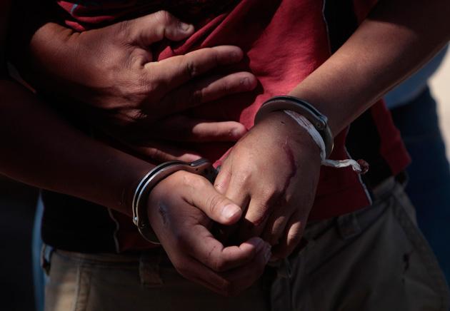 Menor detenido en pleno acto delictivo en Iguazú
