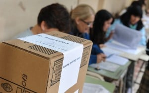Aprestos electorales: candidatos de campaña