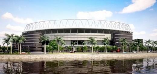 Yacyretá hará un moderno estadio de fútbol en Encarnación
