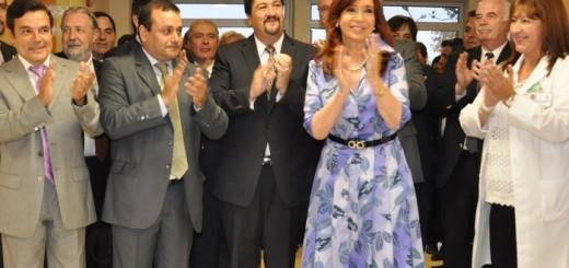 CFK y Closs inauguraron el hospital Pediátrico y anunciaron más obras