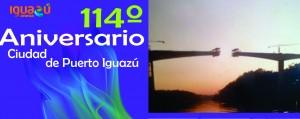 Iguazú: Comenzarán actividades por el 114º aniversario de la Ciudad de las Cataratas