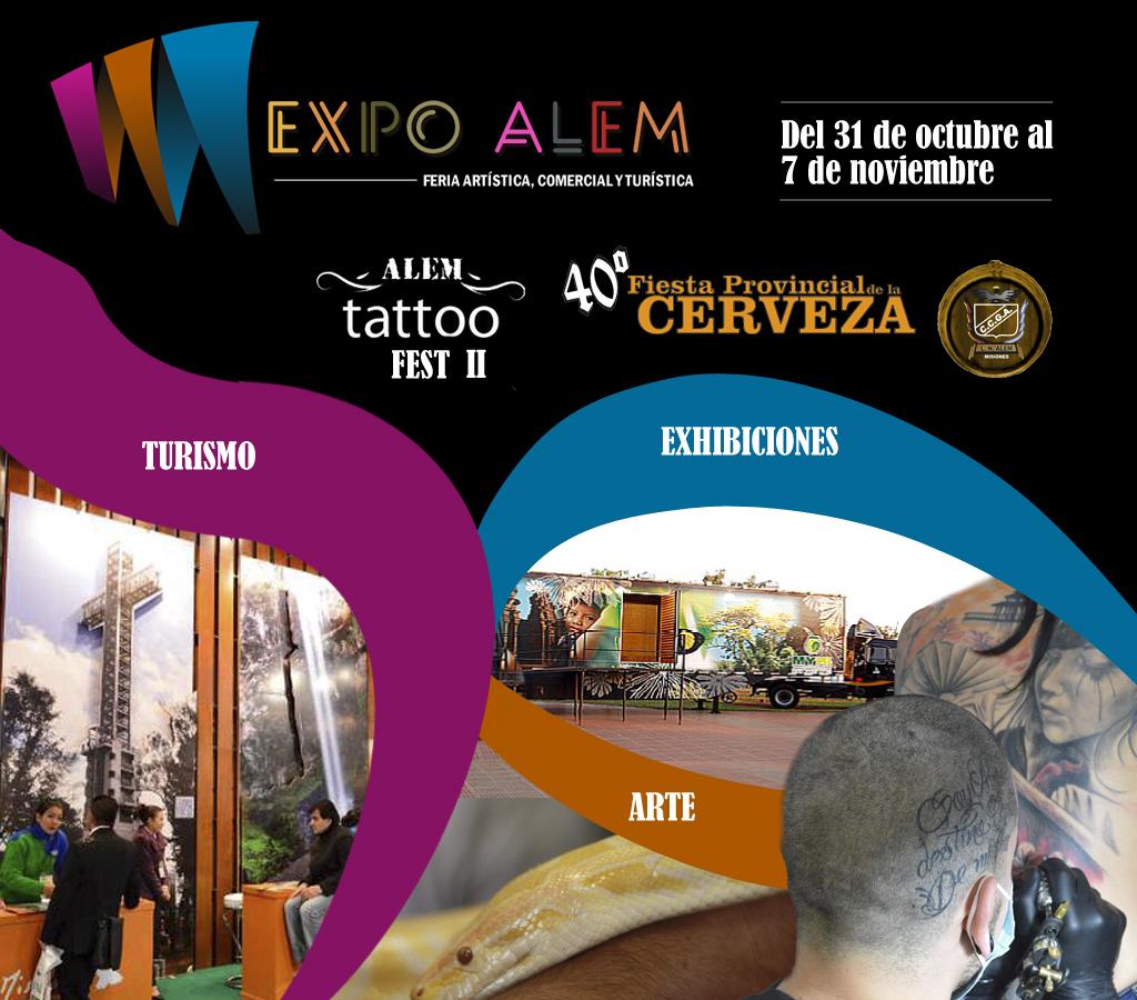 El Alem Tattoo Fest se sumará a la Expo Alem 2015