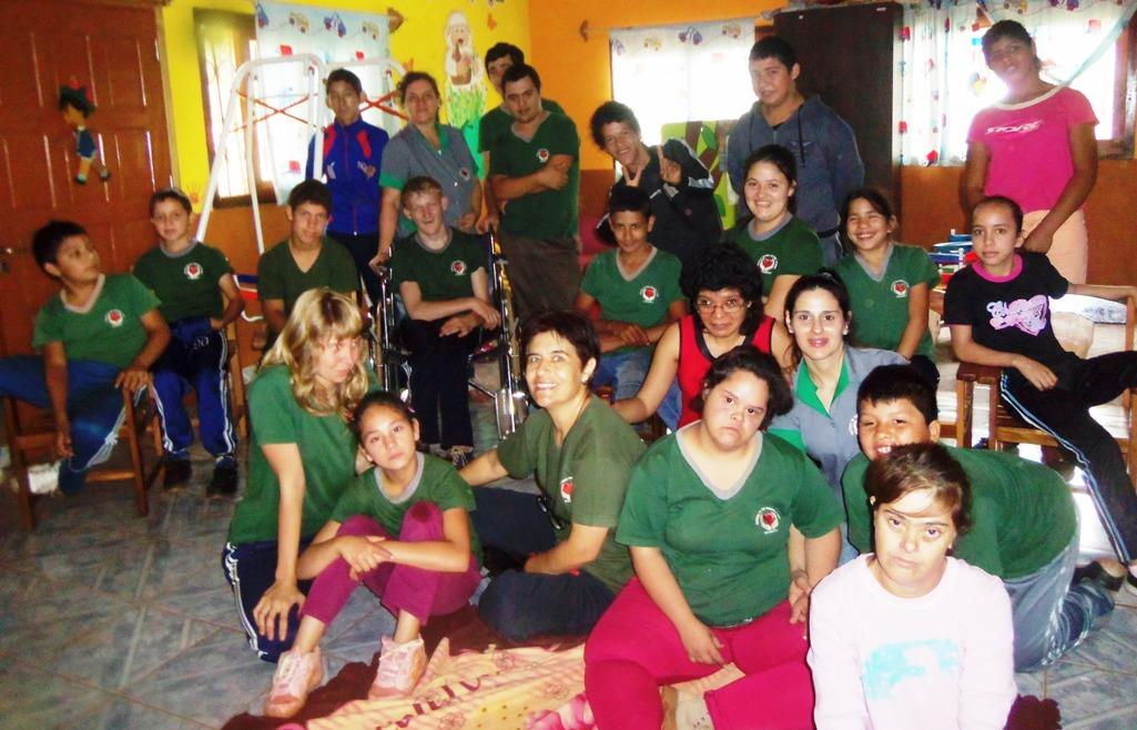 Andresito: Con el acompañamiento de la ONG, el instituto «Doctor René Favaloro» logró grandes avances