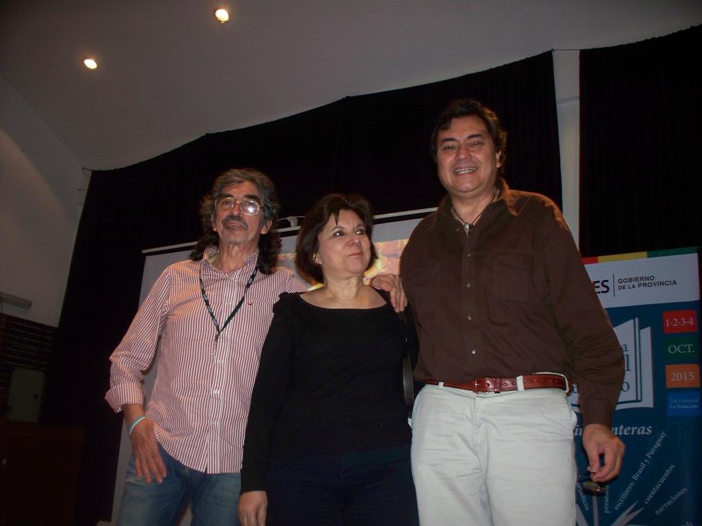 Con films y canciones homenajearon al escritor paraguayo Augusto Roa Bastos en la II Expo Regional del Libro