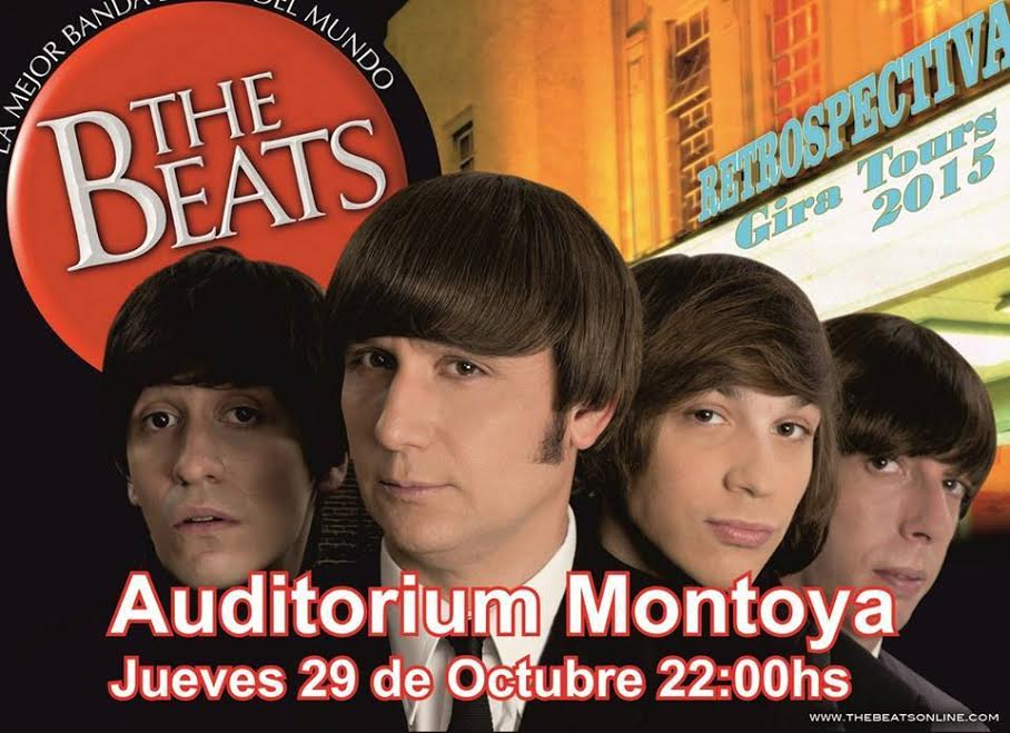 The Beats llega a Posadas para recrear la historia de los Beatles