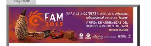 Puerto Iguazú recibe del 7 al 12 de octubre a la feria de Artesanías del Mercosur