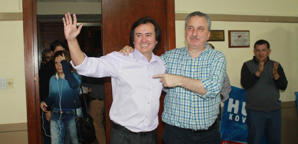 Eldorado: Passalacqua participó del lanzamiento de la candidatura a intendente de Hugo Kovalski