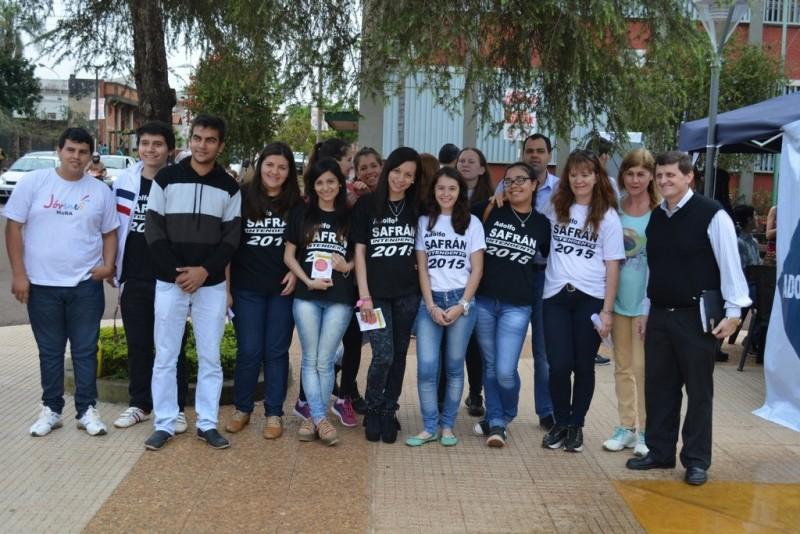 Safrán presenta el programa de acción para los jóvenes de Apóstoles