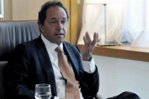"""Para Scioli, la negociación con los fondos buitre """"no es prioridad"""" en su agenda"""