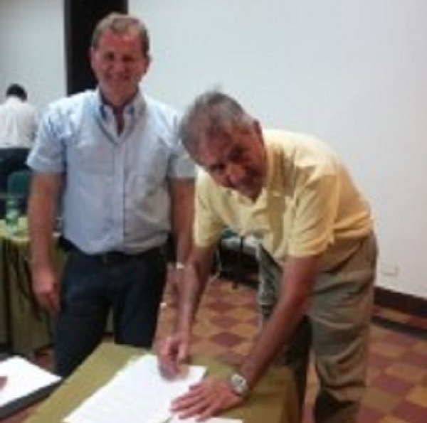 Daniel Behler presentó su plan de gobierno ante la CRIPCO