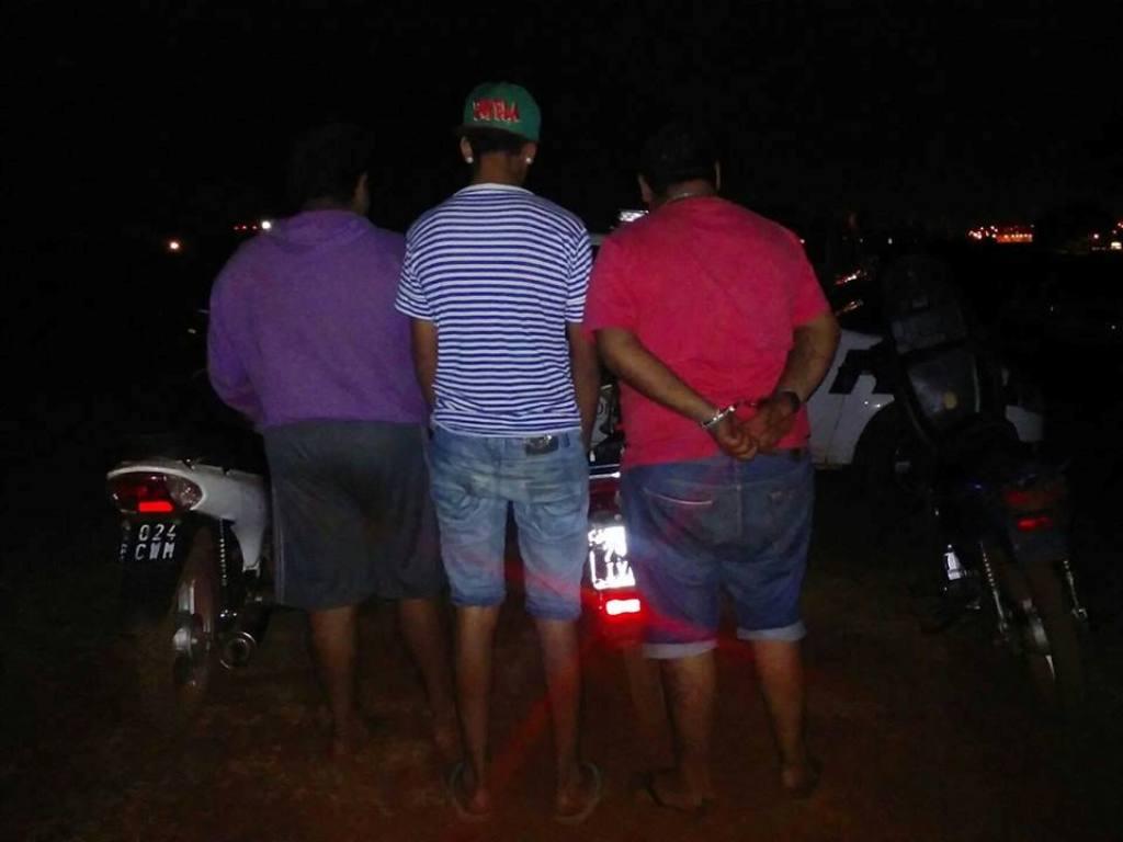 Cuatro detenidos y tres motos secuestradas en un procedimiento en Posadas