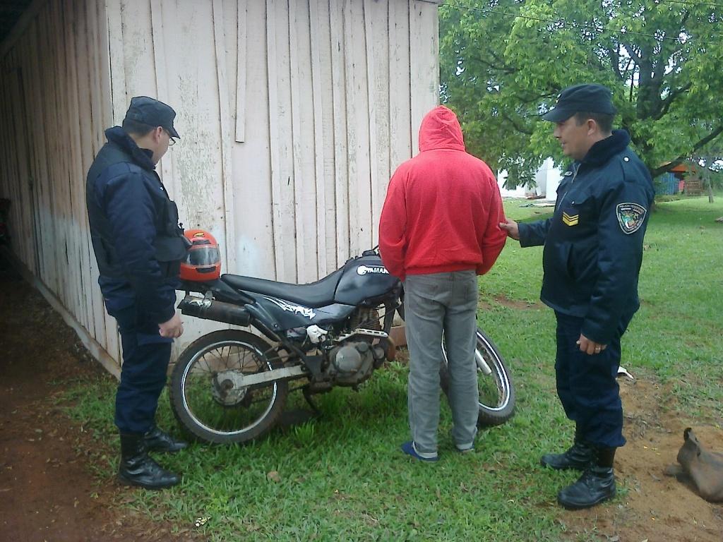 Recuperaron una motocicleta robada en Alba Posse