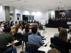 Comenzó la demostración de un juicio por jurados en Posadas
