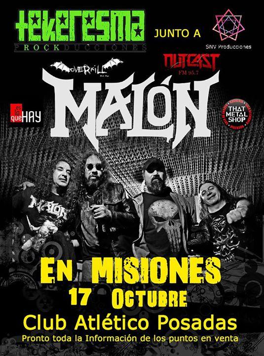 Malón vuelve a Misiones