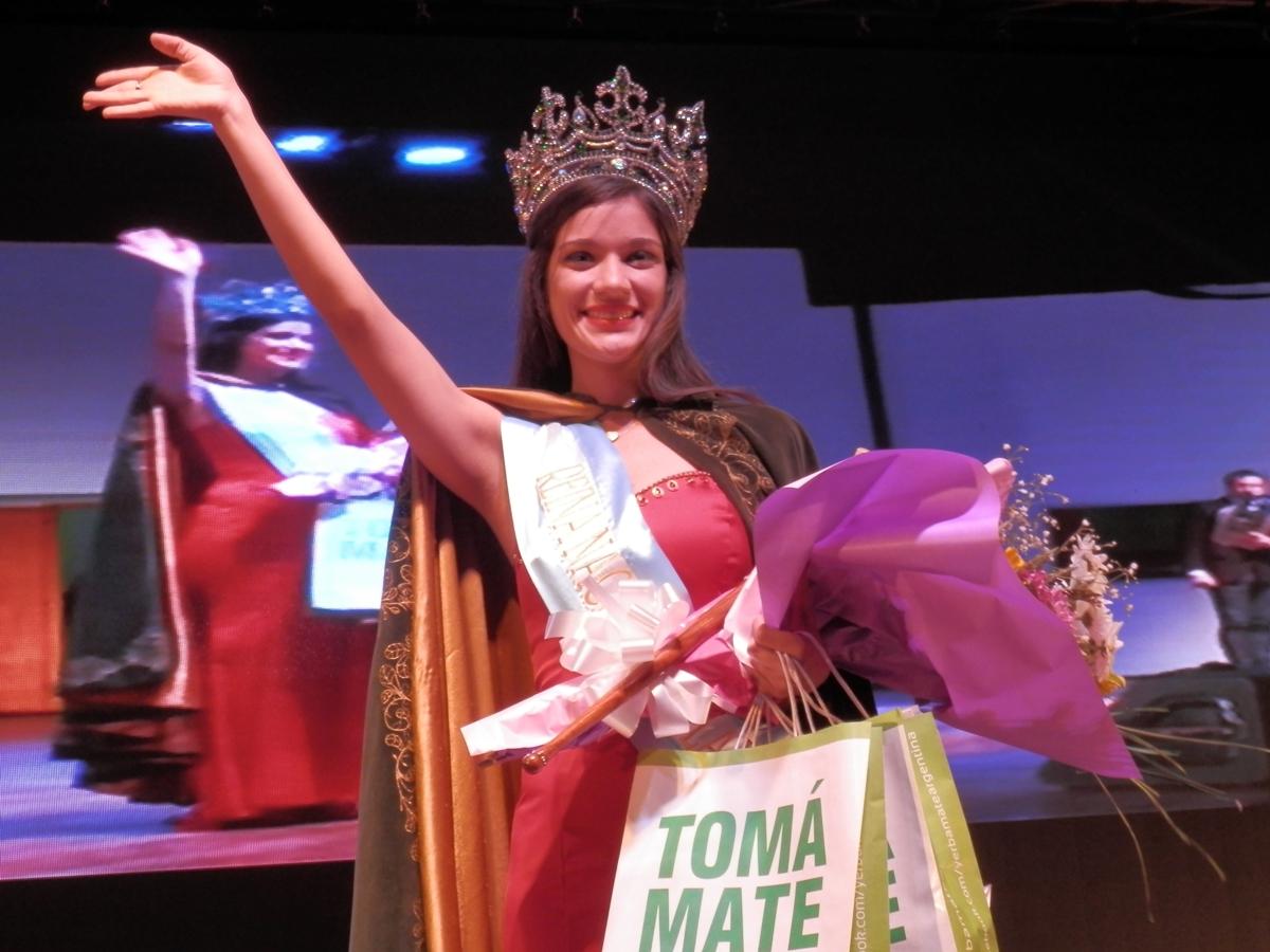 Daiana Lesiw es la Reina Nacional de la Yerba Mate